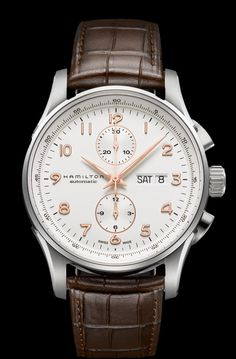 Hamilton Maestro Auto Chrono. Come see us at Karamanjewelers.com to buy.