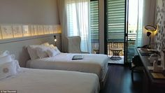Comfy: TravelMail's accommodation is called the Cotton room - a most splendid place to res...