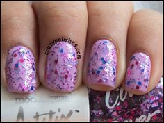 Models Own Artstix Nail Polish Duo:  Pink Stuff, Boogie Dream and Nude Jack Swatches and Review  by crazypolishes.com