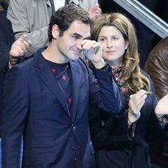 Roger and Mirka Federer Roger Federer Family, Mirka Federer, Monica Seles, Kim Clijsters, Jimmy Connors, Andy Roddick, Tennis Legends, Ana Ivanovic, Bjorn Borg