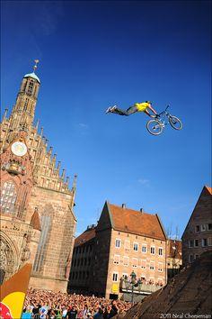 Sam Reynolds...Flying. Literally