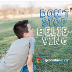 Don't stop believing.  Generation Rescue