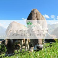 What does 'Demeter' Standards mean? #organicbabyformula #organicbabyfood #lebenswert #holle