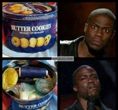 When ever I opened Butter Cookies box
