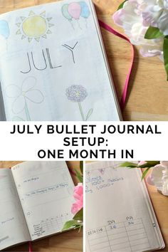 I've been bullet journalling for a month now & have changed some of my initial setup, taking out the bits that didn't work & adding new sections in. Want to see what I've been up to?