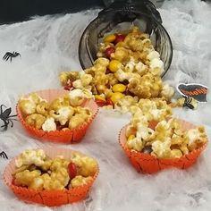 The Life & Loves of Grumpy's Honeybunch: Pumpkin Spice Caramel Corn Snack Mix