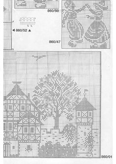 Houses pattern 2 of 2