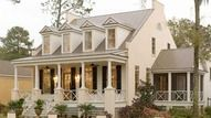 17 Pretty House Plans with Porches Southern homes are famous for their relaxing and beautiful front porches. Check out this Eastover Cottage along with some of Southern Living's best house plans with porches here. Cottage Porch, Cottage Plan, Coastal Cottage, Coastal Homes, Cottage House, Coastal Living, Coastal Farmhouse, Cottage Windows, Cozy Cottage
