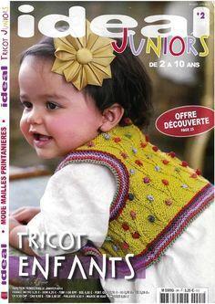 Grey garter stitch jumper for older children. Knitting Books, Knitting For Kids, Baby Knitting Patterns, Baby Patterns, Knitting Magazine, Crochet Magazine, Mode Junior, Knit Baby Sweaters, Garter Stitch