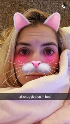 Rydel is cute kitty on snapchat.