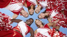Being spirited is important for cheer squads. The best way to be spirited is to work on team building skills! We show you five fun team bonding activities. Behavioural Ecology, Single White Female, Cheer Banquet, Average Face, Psychological Science, Blue Eyed Men, Bonding Activities, Cheer Pictures, How To Be Likeable