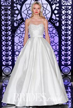 Brides: Reem Acra Wedding Dresses - Fall 2016 - Bridal Runway Shows - Brides.com