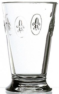 Fleur De Lys 10-ounce Fleur De Lys Double Old Fashioned Glasses
