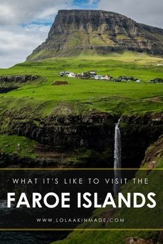 What it's like to road trip around the Faroe Islands, a country known for its untouched beauty, green cliffs, pristine waterfalls, charming towns and far flung adventure. Offbeat travel in Europe. Geotraveler's Niche Travel Blog.
