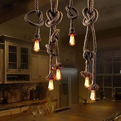 LSD® Vintage Indoor Restaurant Pendant Lights Living Room Bedroom Retro Industrial Hemp Rope Bar Lighting Chandelier Lamps (2 Meter 2 Head) LSD http://www.amazon.com/dp/B018QXLUD8/ref=cm_sw_r_pi_dp_cHb4wb011B9JX
