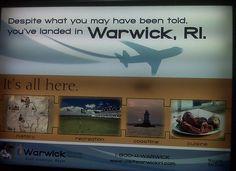 Warwick, not Providence! by siriusthinking, via Flickr