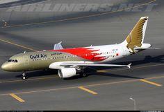 GulfAir F1 Airbus A320-214 @ DBX