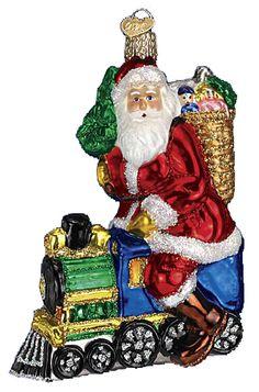 Old World Christmas Ornaments Christmas Bulbs Santa Ornaments Antique Christmas Santa Christmas Christmas Images Glass Ornaments Christmas Holidays