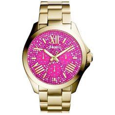 Montre pour femme : Women's Fossil 'Cecile' Pave Dial Multifunction Bracelet Watch 40mm