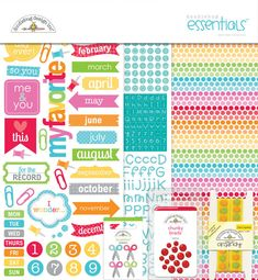"Doodlebug Design Inc ""Take Note"" collection I love this !"