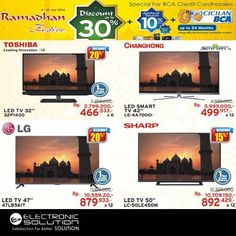 Electronic Solution: Promo TV, Discount 30% @elect_solution