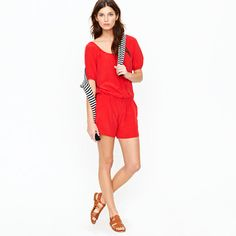 Silk hammock romper    j.crew--you never cease to amaze me