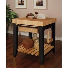 Butcher Block Island. Love the colors and small size