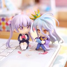 nendoroid good_smile_company shiro nendoron udono_kazuyoshi houbunsha media_factory kamiya_yuu tokunou_shoutarou no_game_no_life katahara_itashi new_game! Shiro, Moe Manga, Sketches Tutorial, Kawaii Doll, Chibi Girl, Anime Figurines, Anime Toys, Anime Merchandise, Cute Chibi