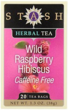 Stash Tea Wild Raspberry Hibiscus Herbal Tea, 20 Count Tea Bags in Foil (Pack of Wild Raspberry Tea, 20 Ct -- 6 Per Case. An enchanting blend, lightly sweet and fragrant with the flavor of fresh picked Northwest raspberries. Super Shred Diet, Stash Tea Company, Low Sugar Smoothies, Tea Plant, Hibiscus Tea, Tea Infuser, Refreshing Drinks, Drinking Tea, Gourmet
