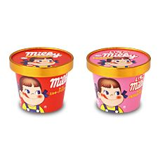 (Milky, milky strawberry) Cup Ice | Cake Pastry | Fujiya