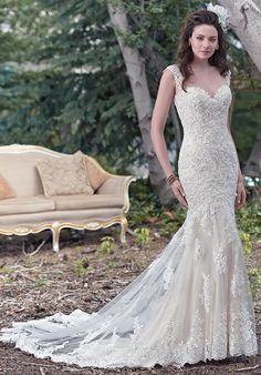 Maggie Sottero Collins Wedding Dress - The Knot
