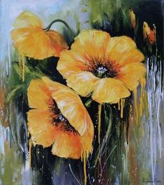 Oil painting Flowers art canvas art for beginners standard oil painting purple floral wall art daffodils painting van gogh Simple Oil Painting, Oil Painting For Beginners, Oil Painting Flowers, Texture Painting, Oil Painting On Canvas, Watercolor Flowers, Painting Clouds, Painting Lessons, Painting Videos