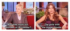25 Funny Ellen Quotes - if she doesn't get you laughing, then you are dead inside.