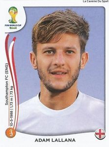Image result for brazil 2014 panini england Lionel Messi, Fc Southampton, Fifa, World Cup 2014, England, Baseball Cards, Sports, Albums, Image