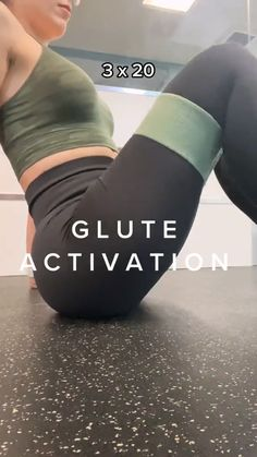 Gym Workout Videos, Gym Workout For Beginners, Fitness Workout For Women, Fitness Goals, Gym Workouts, Fitness Tips, Buttocks Workout, Butt Workout, Glute Activation Exercises