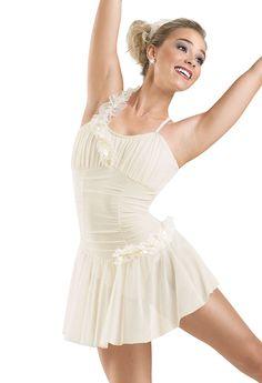 Kiss Ruffle Trim Lyrical Dress; Weissman Costumes. ...defiantly needs some sparkle tho
