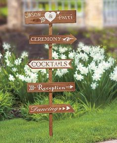 wedding directional yard signs stylishly guide guests at your next gathering or special event with this
