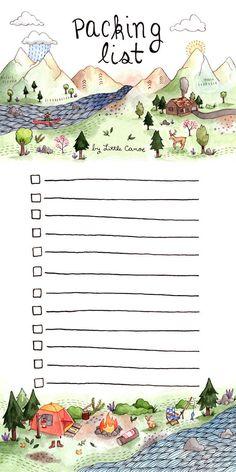 Imballaggio lista Notepad
