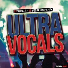 Ultra Vocals WAV DiSCOVER | November 09 2016 | 75.6 MB 'Ultra Vocals' is an amazing collection of original vocals. Inside you can find vocal drops with an