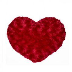 Coussin Coeur Rouge Fourrure Gadget, Cadeau St Valentin, Shag Rug, Christmas Tree, Fish, Pillows, Holiday Decor, Sentiments, Pillow Cases