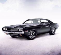 Old Dodge Challenger