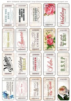 for dol raffle tickets Printable Tickets, Printable Paper, Free Printables, Free Tickets, Printable Vintage, Raffle Tickets, Decoupage, Freebies, Paper Tags