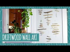 Driftwood Wall Art for those mellow, beachy vibes