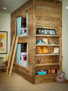 Bunk Beds on The Owner-Builder Network  http://theownerbuildernetwork.co/wp-content/blogs.dir/1/files/bunk-beds/Bunk-Beds-1.JPG