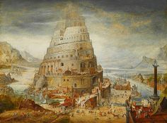 Construction Of The Tower Of Babel  Abel Grimmer