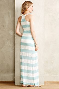 Sweater Stripe Maxi Dress - anthropologie.com