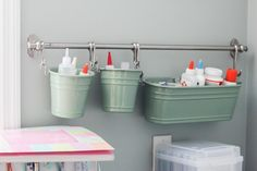Buy or DIY: Arts & Crafts Supply Storage
