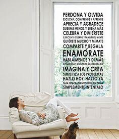 Decora con mensajes positivos   DECORA TU ALMA - Blog de decoración, interiorismo, niños, trucos, diseño, arte...