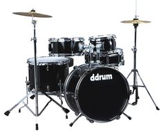 ddrum Jr 5pc Drum Set Black
