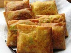 Martabak Tahu - Simak cara membuat adonan resep martabak tahu kulit lumpia telur asin mini asli bandung mesir bangka san fransisco india yang super enak dan sederhana.